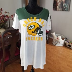 Green Bay Packers ladies 2XL shirt